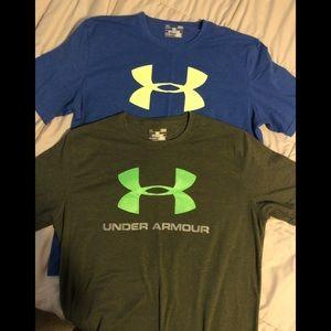 UA Under Armour T-shirt bundle of 2. Large
